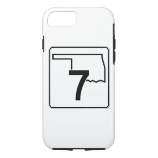 Oklahoma State Highway 7 iPhone 7 Case