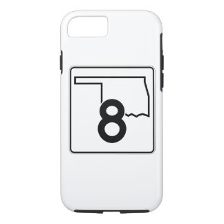 Oklahoma State Highway 8 iPhone 7 Case