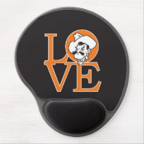 Oklahoma State Love Gel Mouse Pad