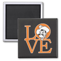 Oklahoma State Love Magnet