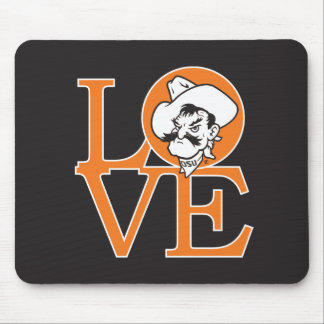 Oklahoma State Love Mouse Pad
