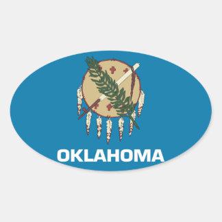 Oklahoma State Oval sticker
