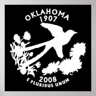 Oklahoma State Quarter Poster