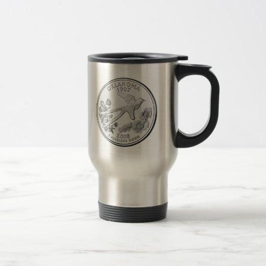 Oklahoma State Quarter Travel Mug