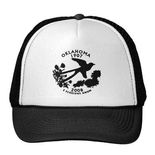 Oklahoma State Quarter Trucker Hat