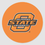 Oklahoma State University Classic Round Sticker