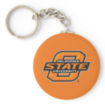 Oklahoma State University Keychain