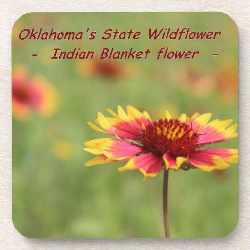 Oklahoma State Wildflower Coaster