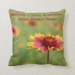 Oklahoma State Wildflower Pillow