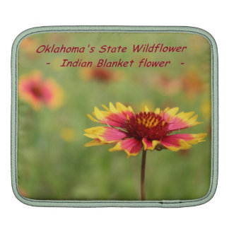 Oklahoma State Wildflower Sleeve For iPads