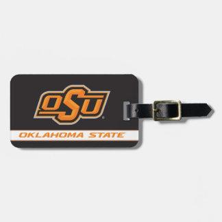 Oklahoma State Wordmark Travel Bag Tags