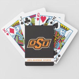 Oklahoma State Wordmark Poker Deck