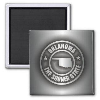 """""""Oklahoma Steel"""" Magnets"""