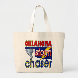 Oklahoma Storm Chaser Tote Bags