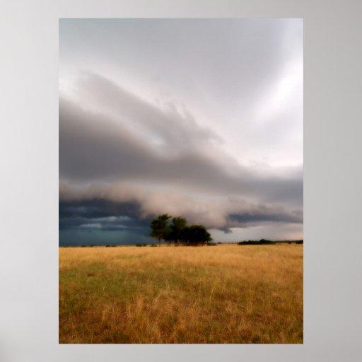 Oklahoma Storm Poster