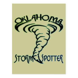 Oklahoma Storm Spotter Postcard