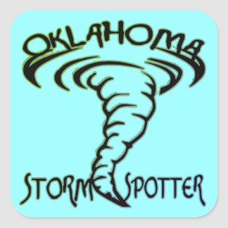 Oklahoma Storm Spotter Stickers