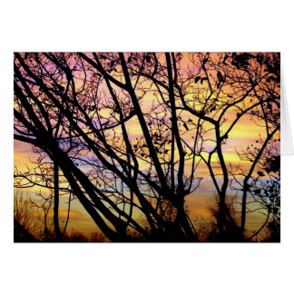 Oklahoma Sunrise Card