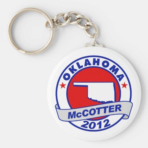 Oklahoma Thad McCotter Key Chain