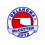 Oklahoma Thad McCotter Postcard