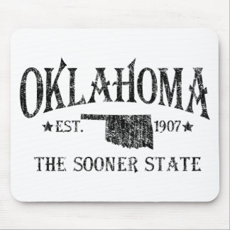 Oklahoma - The Sooner State Mouse Pad