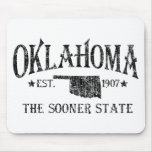 Oklahoma - The Sooner State Mousepads