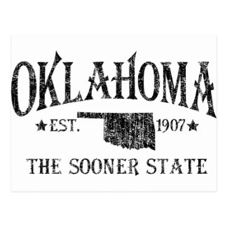 Oklahoma - The Sooner State Postcard