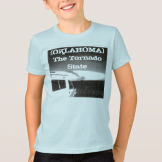 OKLAHOMA(THE TORNADO STATE)windiest place on earth T-Shirt