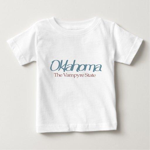 "Oklahoma ""The Vampyre State"" T-shirts"
