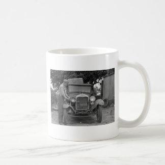 Oklahoma to California, 1930s Coffee Mug