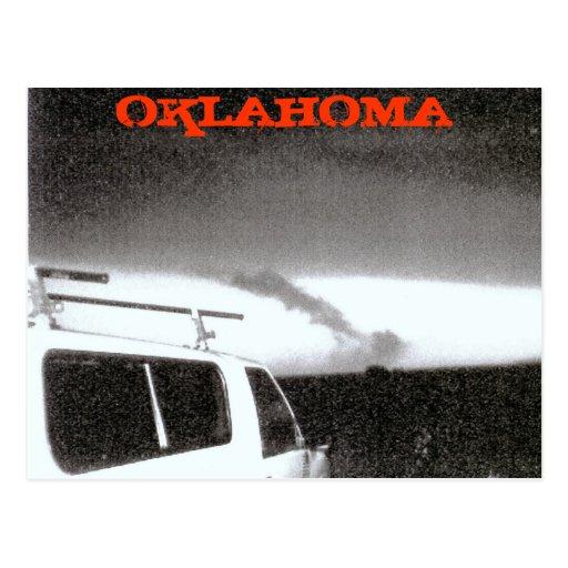 OKLAHOMA TORNADO 2004 POST CARD