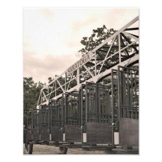 Oklahoma Training Gate at Saratoga Photograph