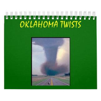 OKLAHOMA TWISTS  2009 CALENDAR