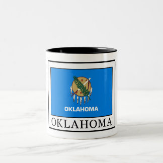 Oklahoma Two-Tone Coffee Mug