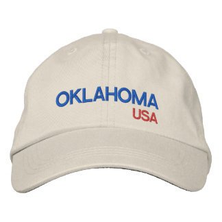 Oklahoma USA Baseball Hat