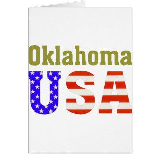 Oklahoma USA! Card