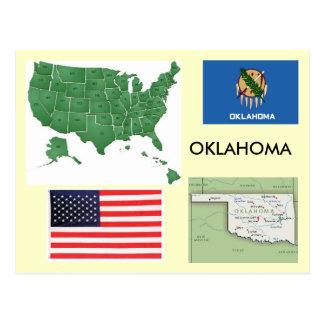 Oklahoma, USA Postcard