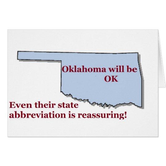 Oklahoma will be OK Card