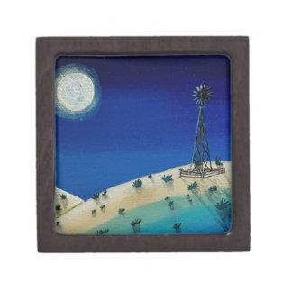 Oklahoma Windmill Gift Box