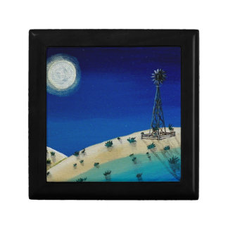 Oklahoma Windmill Keepsake Box