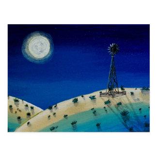 Oklahoma Windmill Postcard