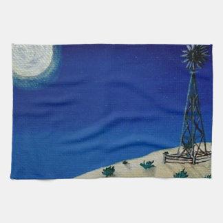 Oklahoma Windmill Towels