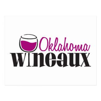 Oklahoma Wineaux Postcard