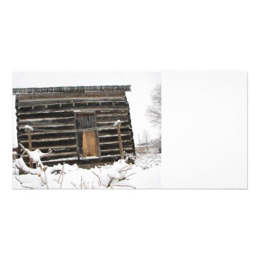 Oklahoma winter photo greeting card