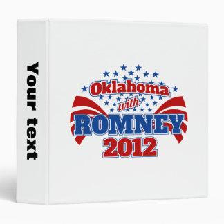 Oklahoma with Romney 2012 Binder
