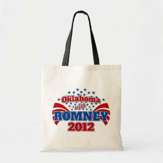 Oklahoma with Romney 2012 Tote Bag