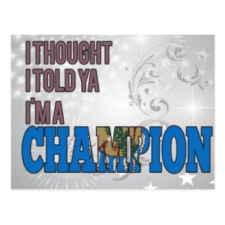 Oklahoman and a Champion Postcard