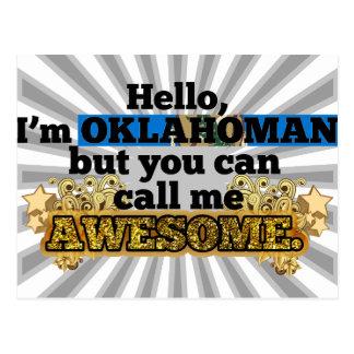 Oklahoman, but call me Awesome Postcard