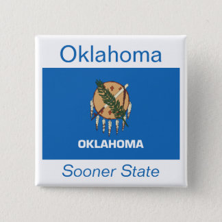 Oklahoman Flag Button