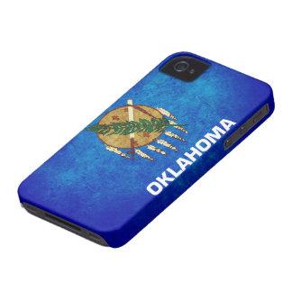 Oklahoman Flag; iPhone 4 Case-Mate Cases